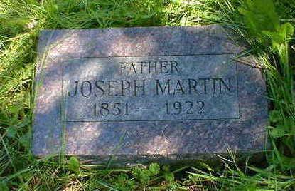 MARTIN, JOSEPH - Cerro Gordo County, Iowa | JOSEPH MARTIN