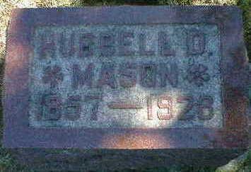 MASON, HUBBELL D. - Cerro Gordo County, Iowa | HUBBELL D. MASON