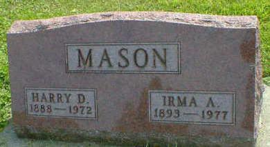 MASON, IRMA A. - Cerro Gordo County, Iowa | IRMA A. MASON