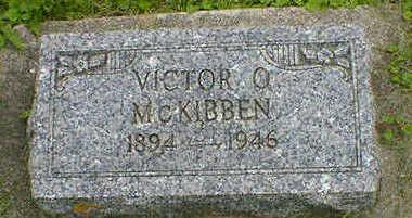 MC KIBBEN, VICTOR O. - Cerro Gordo County, Iowa   VICTOR O. MC KIBBEN