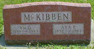 MC KIBBEN, WM. D. - Cerro Gordo County, Iowa | WM. D. MC KIBBEN