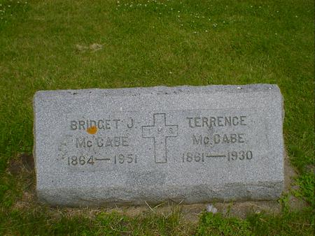 MCCABE, BRIDGET J. - Cerro Gordo County, Iowa | BRIDGET J. MCCABE