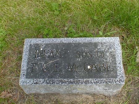 MCCABE, INFANT - Cerro Gordo County, Iowa | INFANT MCCABE