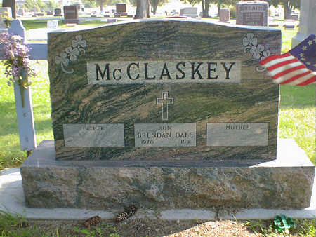 MCCLASKEY, BRENDAN DALE - Cerro Gordo County, Iowa   BRENDAN DALE MCCLASKEY