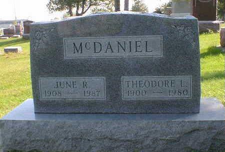 MCDANIEL, JUNE R. - Cerro Gordo County, Iowa | JUNE R. MCDANIEL