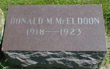 MCELDOON, DONALD M. - Cerro Gordo County, Iowa | DONALD M. MCELDOON