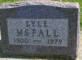 MCFALL, LYLE - Cerro Gordo County, Iowa   LYLE MCFALL