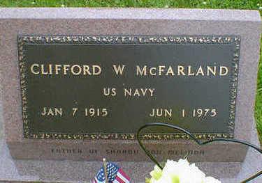 MCFARLAND, CLIFFORD W. - Cerro Gordo County, Iowa | CLIFFORD W. MCFARLAND