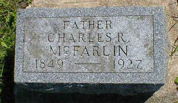 MCFARLIN, CHARLES R. - Cerro Gordo County, Iowa   CHARLES R. MCFARLIN