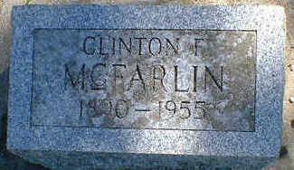 MCFARLIN, CLINTON F. - Cerro Gordo County, Iowa | CLINTON F. MCFARLIN