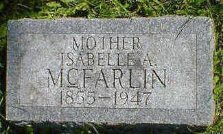 MCFARLIN, ISABELLE A. - Cerro Gordo County, Iowa | ISABELLE A. MCFARLIN