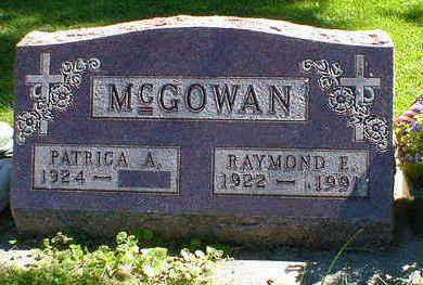 MCGOWAN, RAYMOND E. - Cerro Gordo County, Iowa | RAYMOND E. MCGOWAN