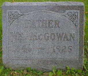 MCGOWAN, WM. - Cerro Gordo County, Iowa | WM. MCGOWAN