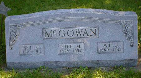 MCGOWAN, WILL J. - Cerro Gordo County, Iowa | WILL J. MCGOWAN