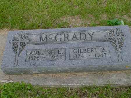MCGRADY, ADELINE E. - Cerro Gordo County, Iowa | ADELINE E. MCGRADY