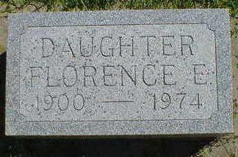MCGRADY, FLORENCE E. - Cerro Gordo County, Iowa   FLORENCE E. MCGRADY