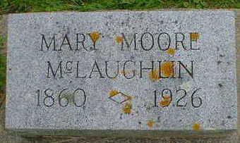 MOORE MCLAUGHLIN, MARY - Cerro Gordo County, Iowa | MARY MOORE MCLAUGHLIN