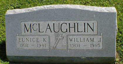 MCLAUGHLIN, WILLIAM J. - Cerro Gordo County, Iowa | WILLIAM J. MCLAUGHLIN
