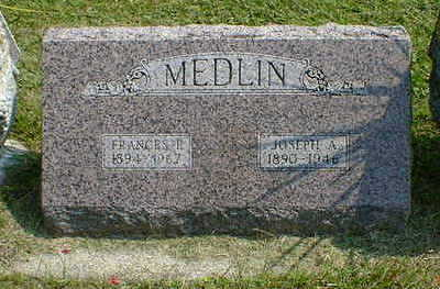 MEDLIN, FRANCES F. - Cerro Gordo County, Iowa | FRANCES F. MEDLIN