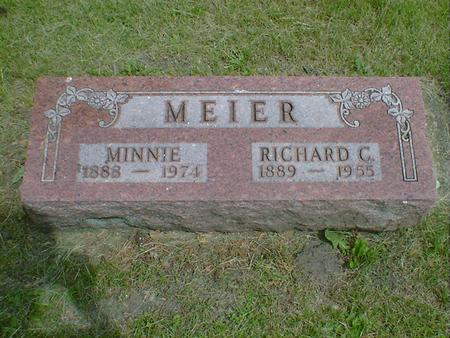 MEIER, RICHARD C. - Cerro Gordo County, Iowa | RICHARD C. MEIER