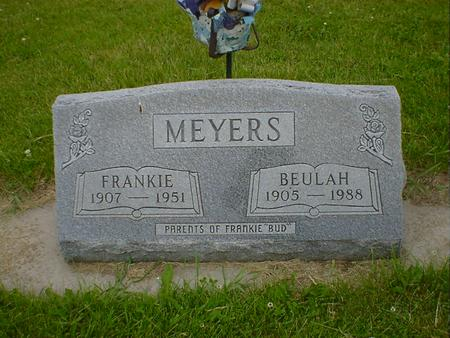 MEYERS, FRANKIE - Cerro Gordo County, Iowa | FRANKIE MEYERS