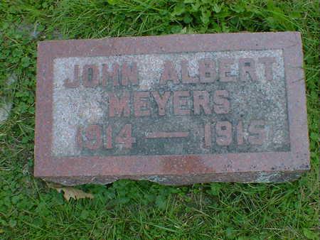 MEYERS, JOHN ALBERT - Cerro Gordo County, Iowa | JOHN ALBERT MEYERS