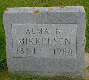 MIKKELSEN, ALMA N. - Cerro Gordo County, Iowa | ALMA N. MIKKELSEN