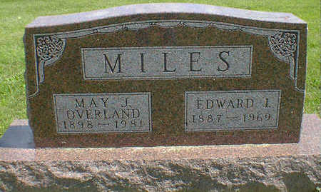 OVERLAND MILES, MAY J. - Cerro Gordo County, Iowa | MAY J. OVERLAND MILES