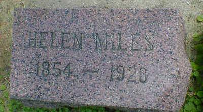 MILES, HELEN - Cerro Gordo County, Iowa | HELEN MILES