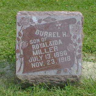 MILLER, BURREL H. - Cerro Gordo County, Iowa   BURREL H. MILLER