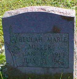 MILLER, BEULAH MARIE - Cerro Gordo County, Iowa   BEULAH MARIE MILLER