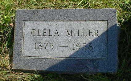 MILLER, CLELA - Cerro Gordo County, Iowa   CLELA MILLER