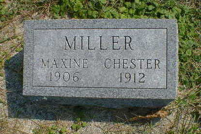 MILLER, CHESTER - Cerro Gordo County, Iowa | CHESTER MILLER