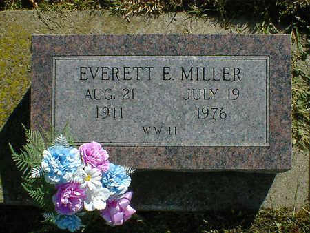 MILLER, EVERETT E. - Cerro Gordo County, Iowa | EVERETT E. MILLER