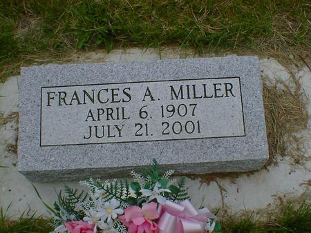 MILLER, FRANCES AMELIA (OTT) - Cerro Gordo County, Iowa | FRANCES AMELIA (OTT) MILLER