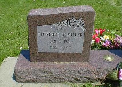 MILLER, FLORENCE R. - Cerro Gordo County, Iowa | FLORENCE R. MILLER
