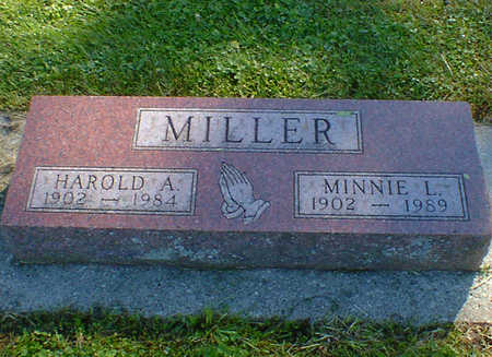 MILLER, HAROLD A. - Cerro Gordo County, Iowa | HAROLD A. MILLER