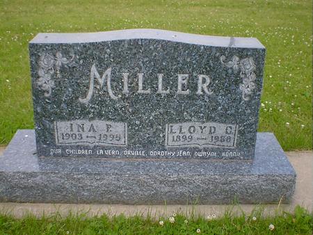 MILLER, INA P. (EDWARDS) - Cerro Gordo County, Iowa | INA P. (EDWARDS) MILLER