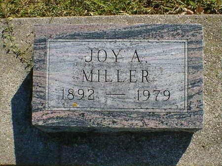 MILLER, JOY - Cerro Gordo County, Iowa   JOY MILLER