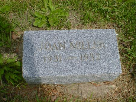 MILLER, JOAN - Cerro Gordo County, Iowa   JOAN MILLER