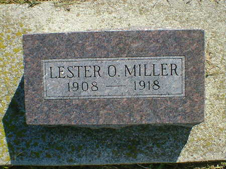 MILLER, LESTER O. - Cerro Gordo County, Iowa   LESTER O. MILLER