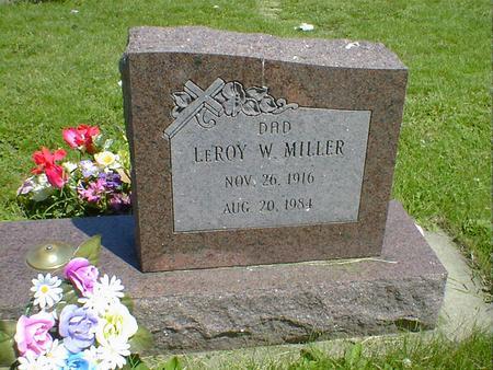 MILLER, LEROY - Cerro Gordo County, Iowa | LEROY MILLER