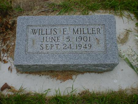 MILLER, WILLIS E. - Cerro Gordo County, Iowa | WILLIS E. MILLER