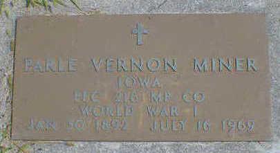 MINER, PARLE VERNON - Cerro Gordo County, Iowa | PARLE VERNON MINER