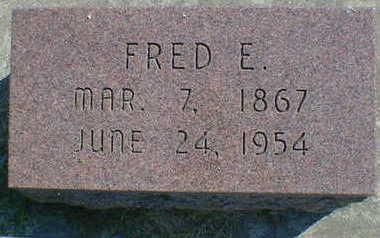 MOFFETT, FRED E. - Cerro Gordo County, Iowa   FRED E. MOFFETT