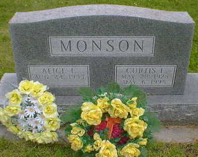 MONSON, CURTIS E. - Cerro Gordo County, Iowa | CURTIS E. MONSON