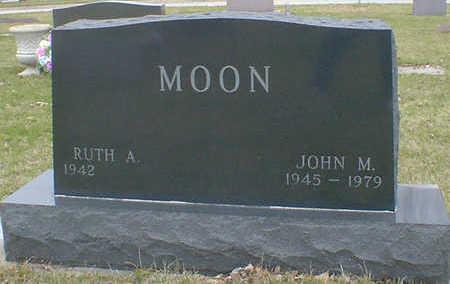 MOON, JOHN M. - Cerro Gordo County, Iowa   JOHN M. MOON
