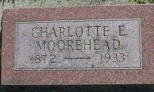 MOOREHEAD, CHARLOTTE E. - Cerro Gordo County, Iowa | CHARLOTTE E. MOOREHEAD