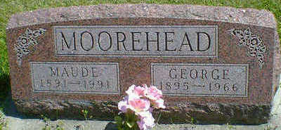 MOOREHEAD, MAUDE - Cerro Gordo County, Iowa | MAUDE MOOREHEAD