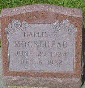 MOOREHEAD, HARLES E. - Cerro Gordo County, Iowa   HARLES E. MOOREHEAD
